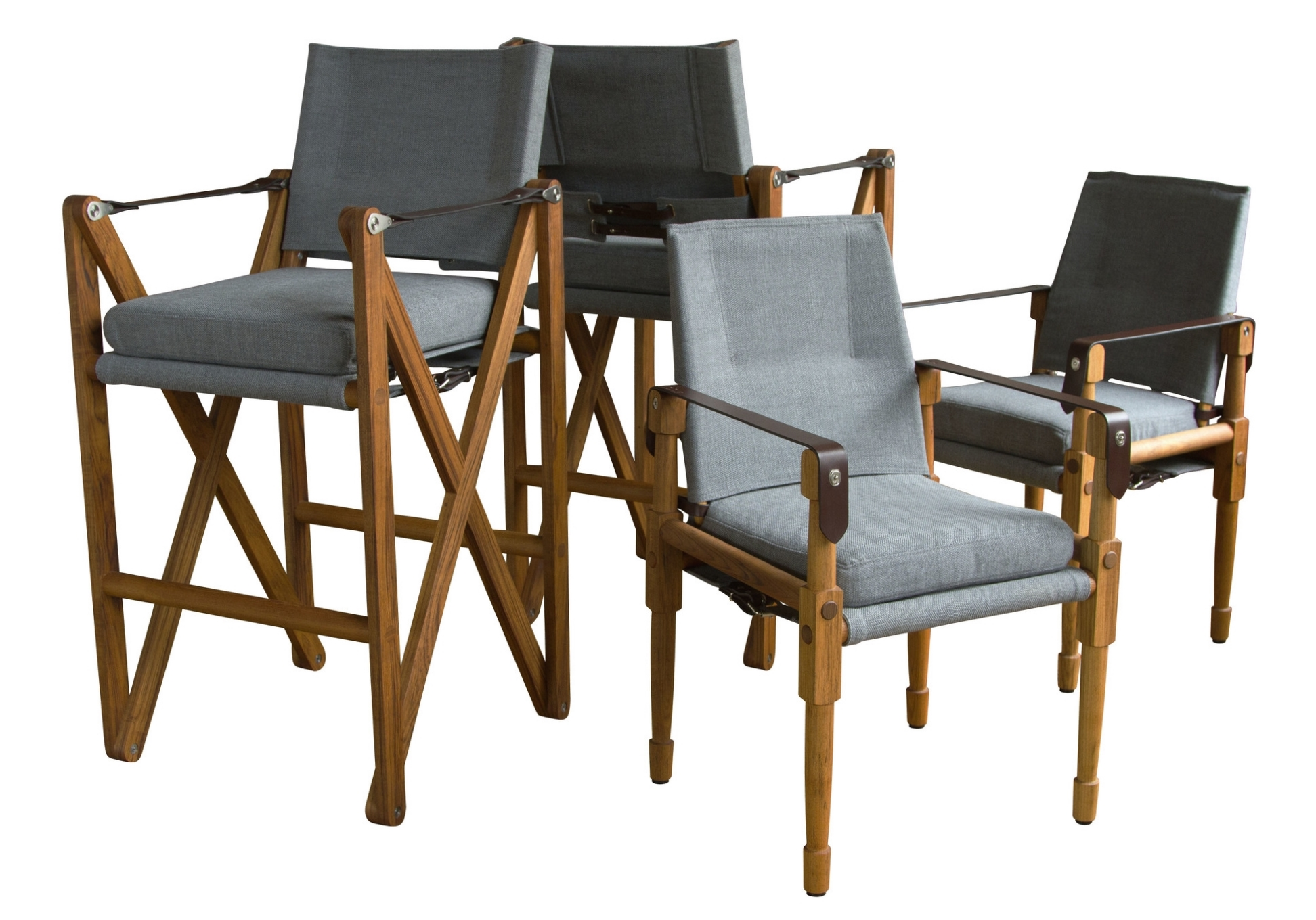 MacLaren Bar Chairs and Chatwin Dining Chairs