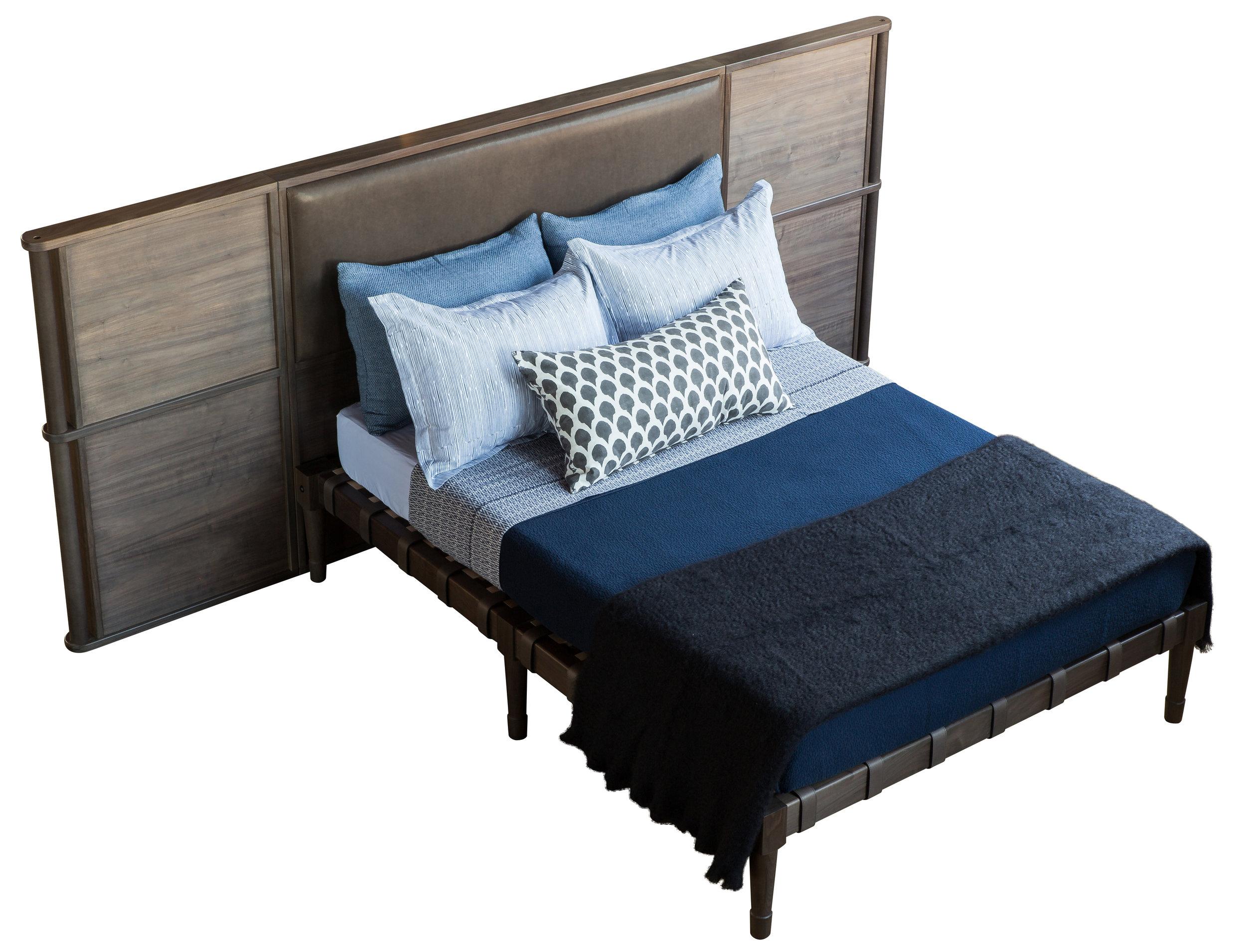 Jasper Bed with Headboard