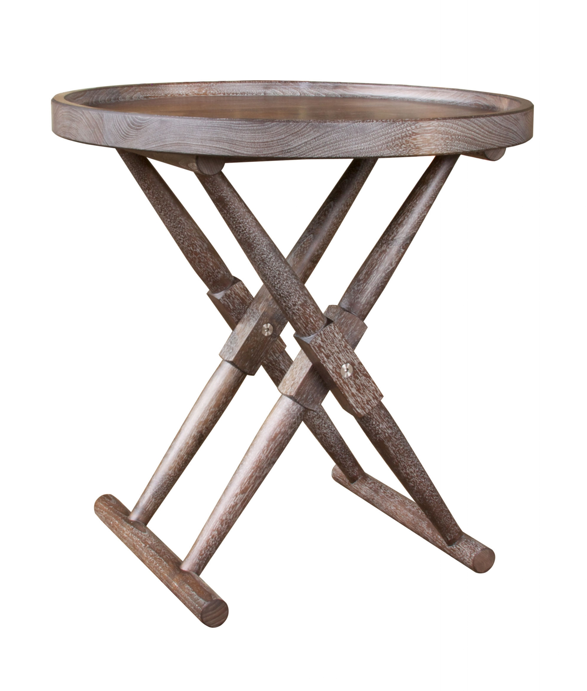 Matthiessen Round Tray Table
