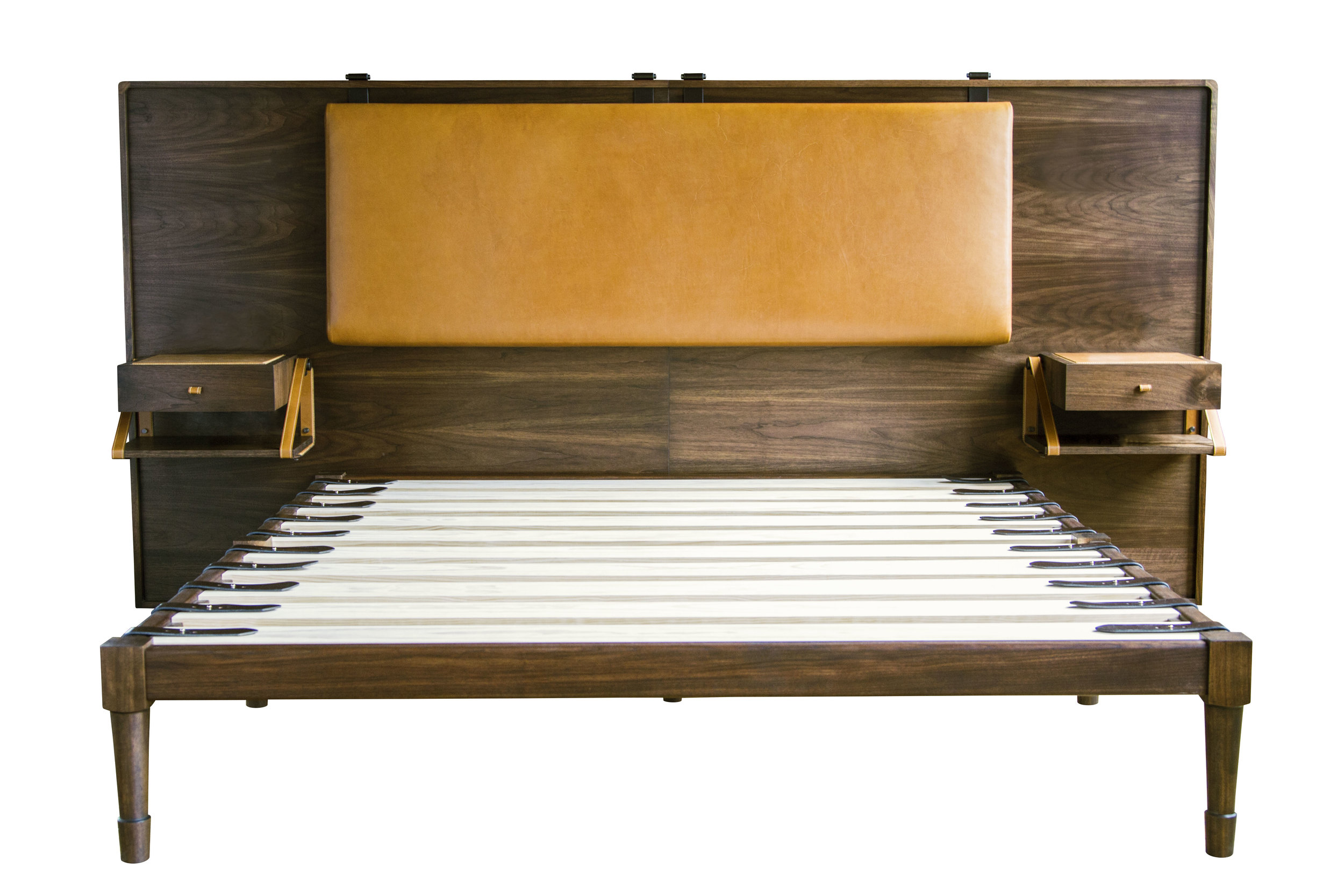 CA King Jasper Bed with the Marlton Headboard