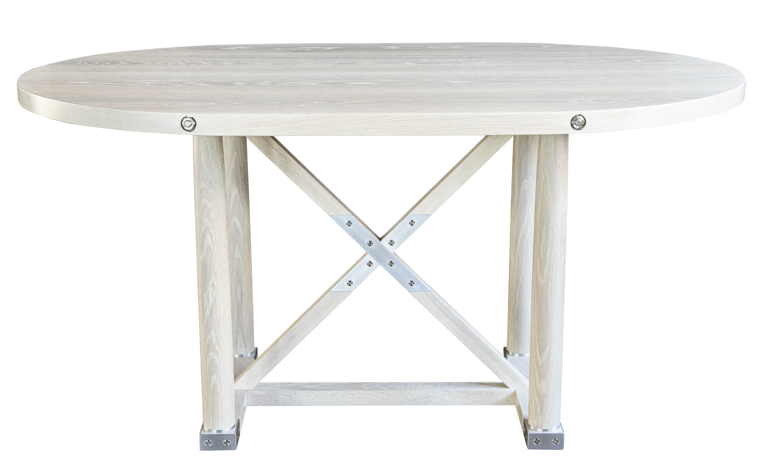 Carden Dining Table - Racetrack Top