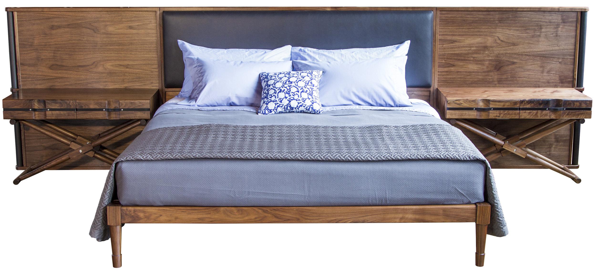 Jasper Bed and Headboard