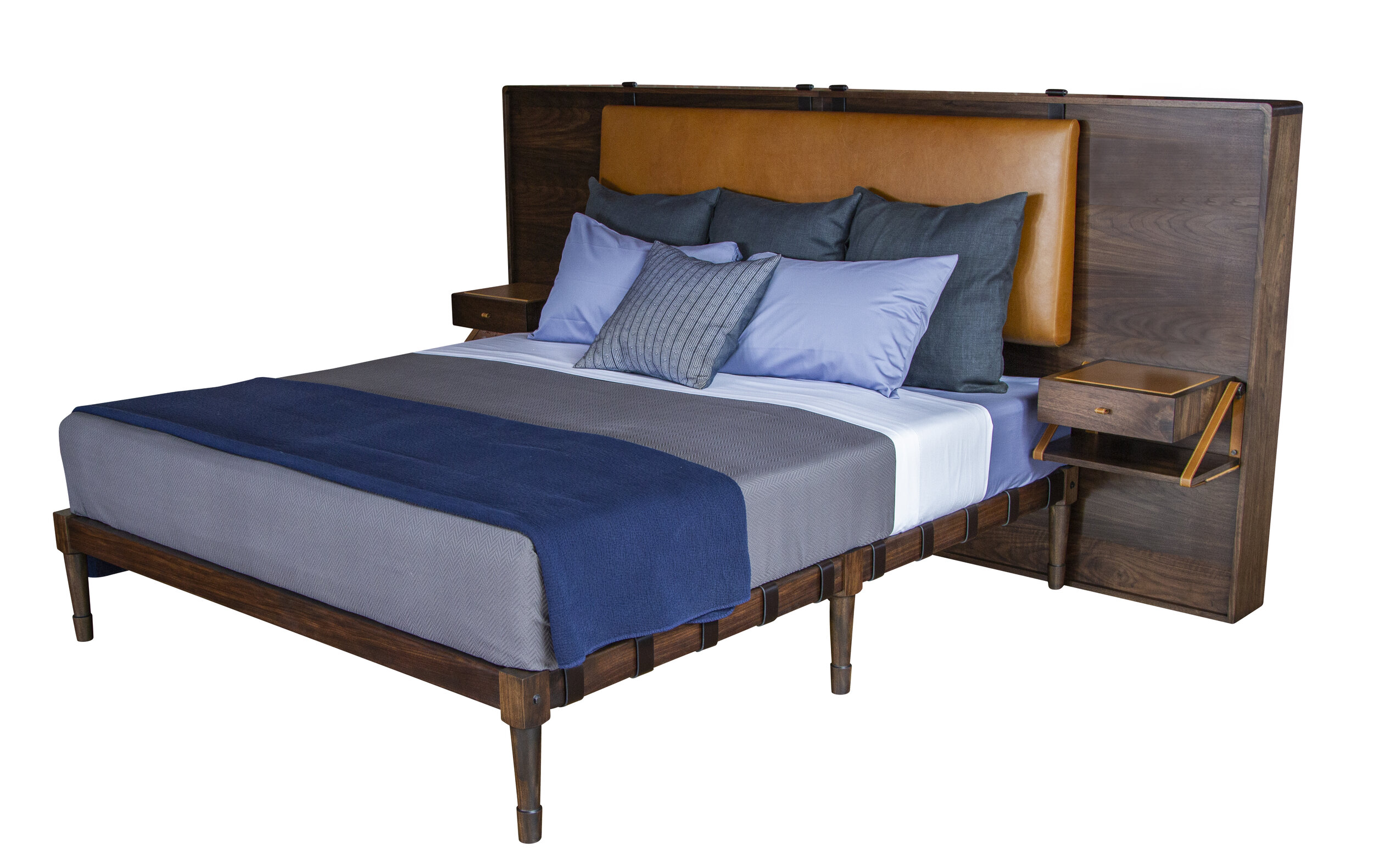 CA King Jasper Bed with the Marlton Headboard