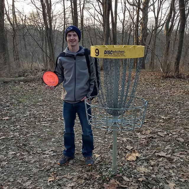 Congrats to Greg! Christmas Day Ace hole 9