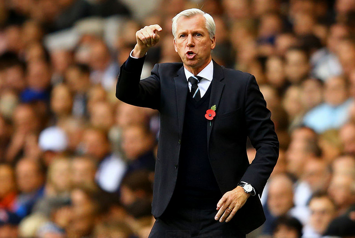 So this is what Pardew looks like when he actually coaches, and his players listen.