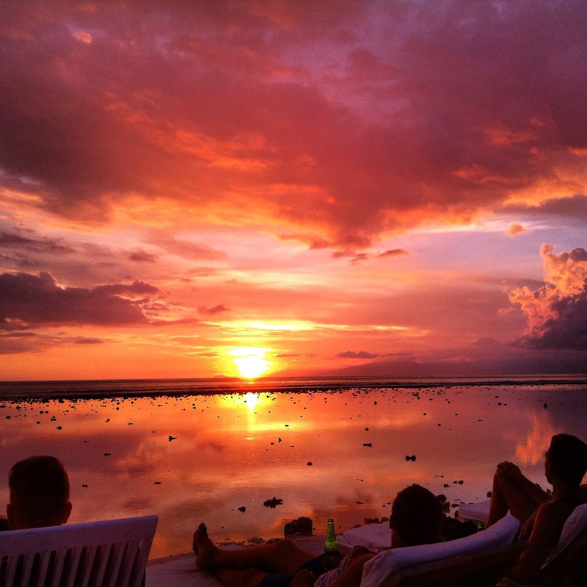 Gilli Trawangan Sunset