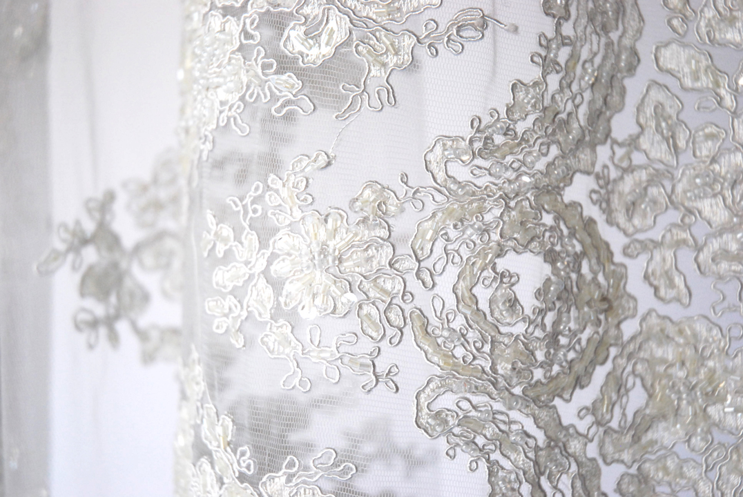 French Lace Runner Details