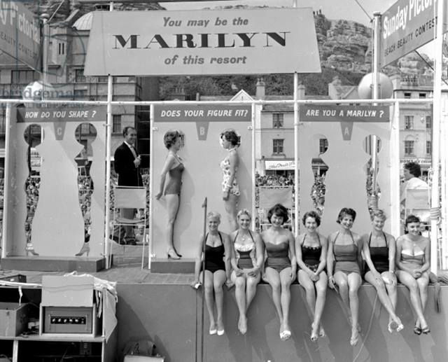 你是不是個瑪麗蓮夢露?英國,約 1958