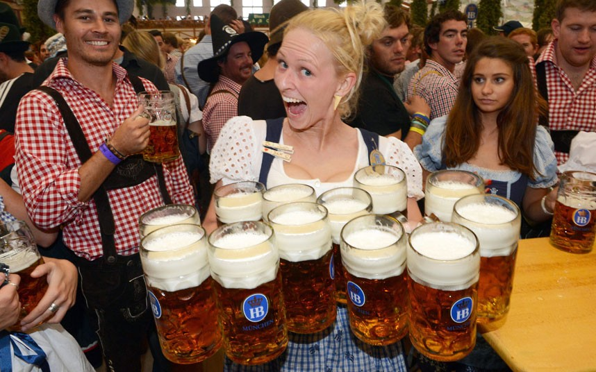 現代慕尼黑啤酒節。