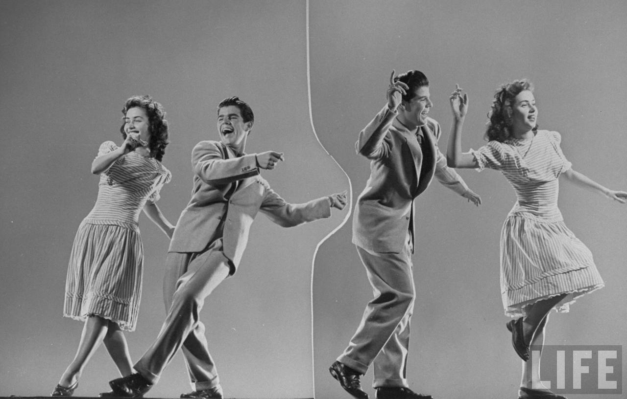 1943 年 LIFE 雜誌  Lindyhop 專欄 :Kaye Popp & Stanley Catron