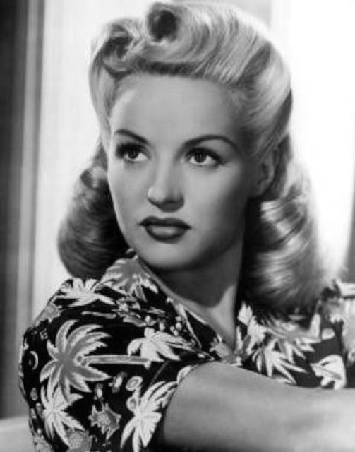 1940 年代 pin curl 髮型