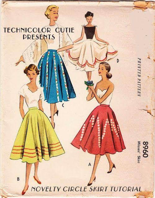 1950 年代大圓裙