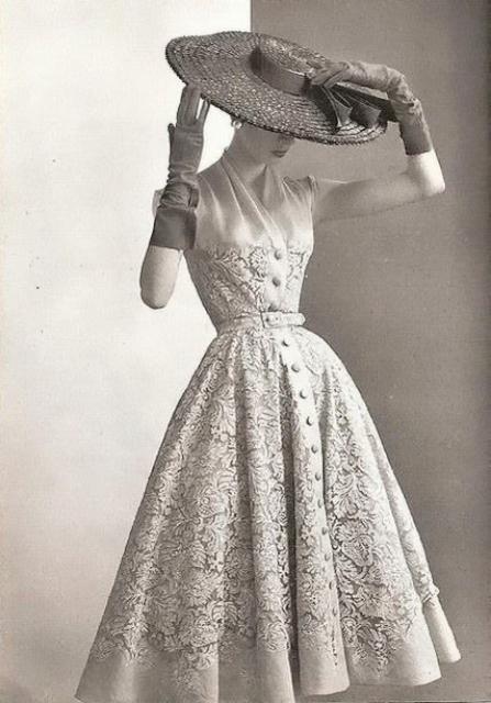 1950 年代洋裝