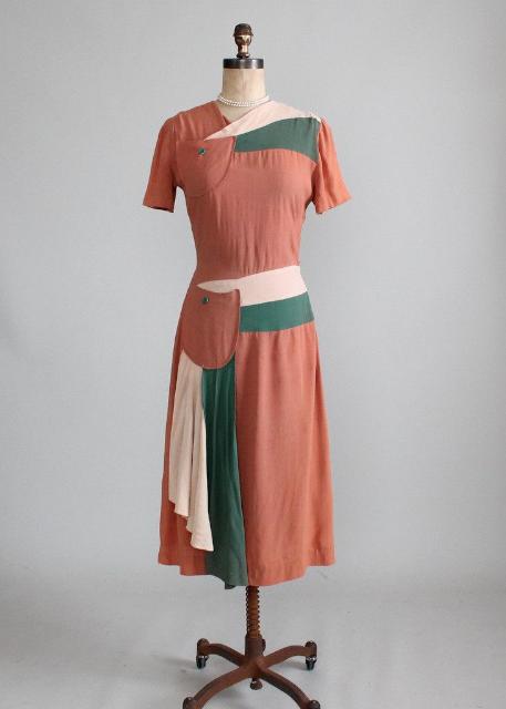 Raleigh Vintage:1940 年代洋裝