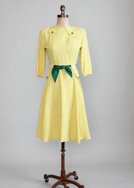 Raleigh Vintage:1940年代 洋裝