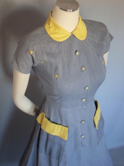 1937 Dry Goods:1940 年代洋裝