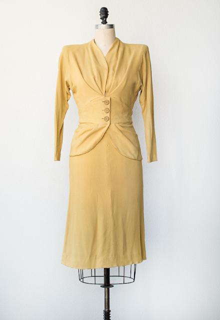 Adored Vintage:1940 年代洋裝