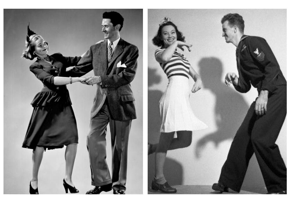 1940 年代 Lindy Hop 舞者