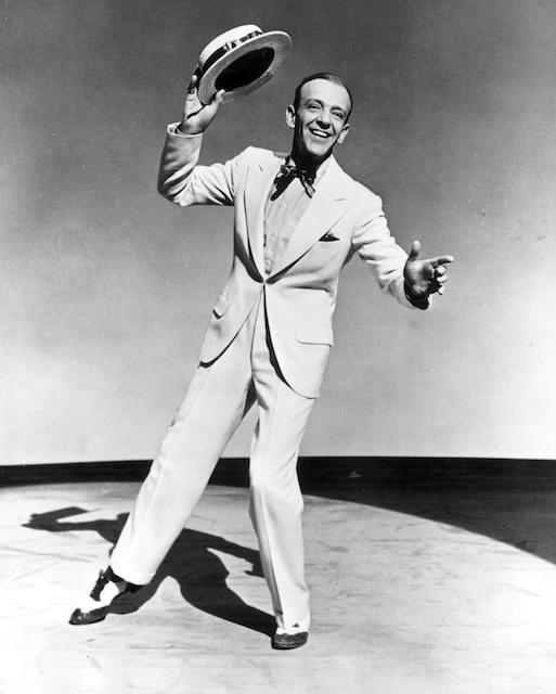 1952, 踢踏舞影星 Fred Astaire