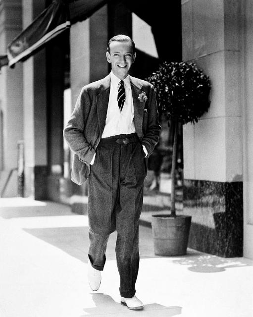 1940 年代,踢踏舞影星 Fred Astaire