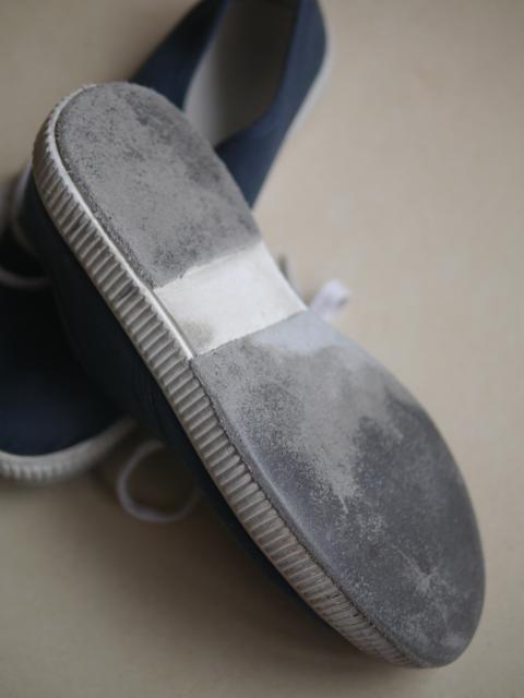 貼皮過後的帆布鞋(穿了一陣子了)