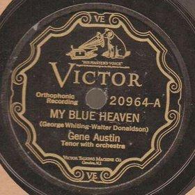 My Blue Heaven 唱片,圖片來源: Perfect Pop Singles