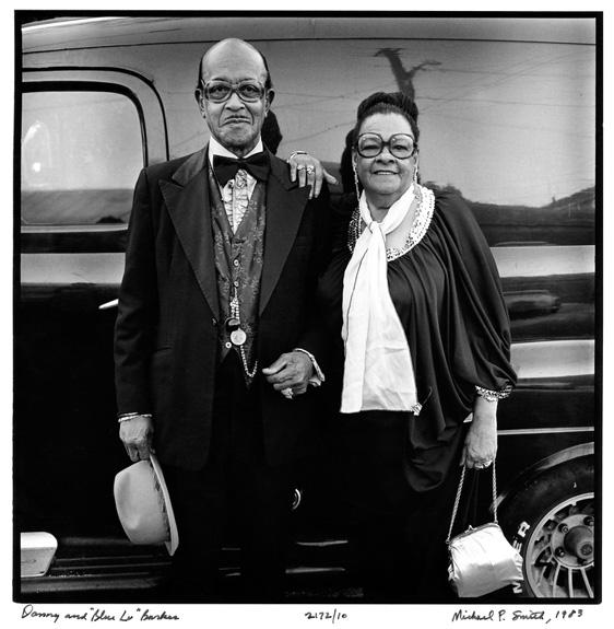 Blue Lu Barker 與 Danny Barker ( via  The Historic New Orleans Collection )
