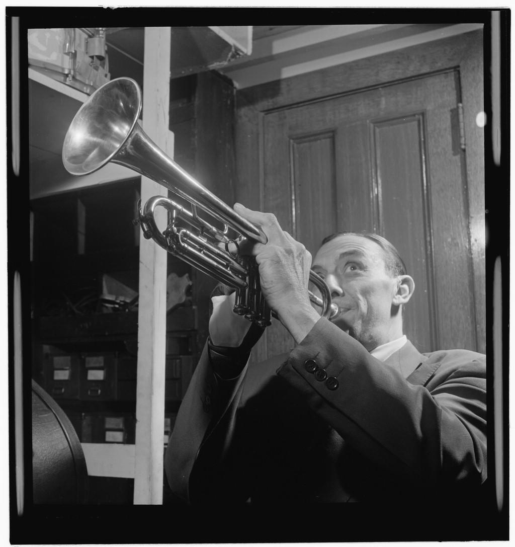 紐奧良爵士樂手,Wingy Manone( via :  Gottlieb Jazz Photos )