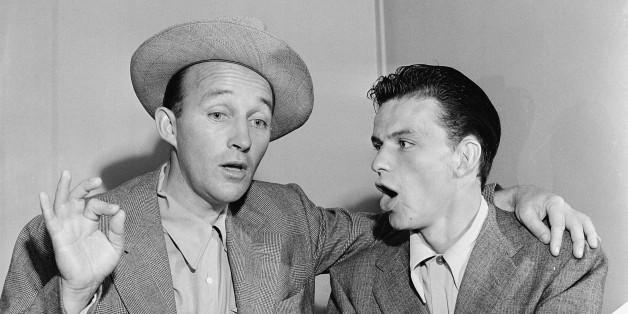 Bing Crosby 與 Frank Sinatra( via : The Huffington Post )