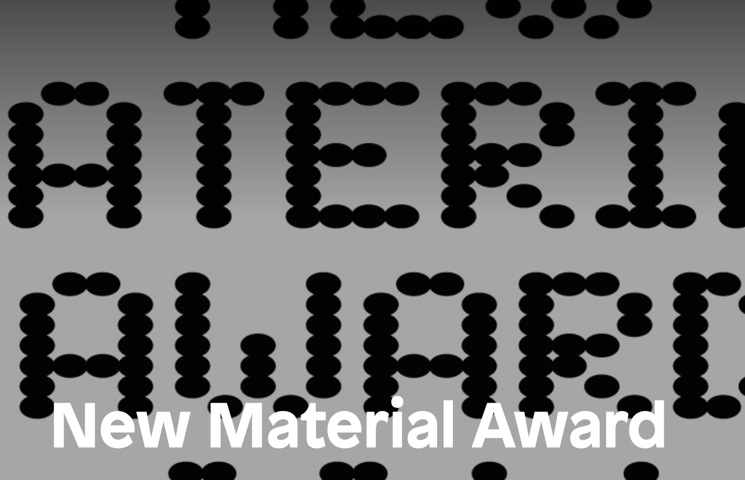 New Material Award Application:  Atelier NL, a design studio in Eindhoven, applied for the 2014 New Material Award, which is only available to Dutch designers. I wrote the text, which the studio then formatted into a formal document including images of work relevant to their Sandglass project.