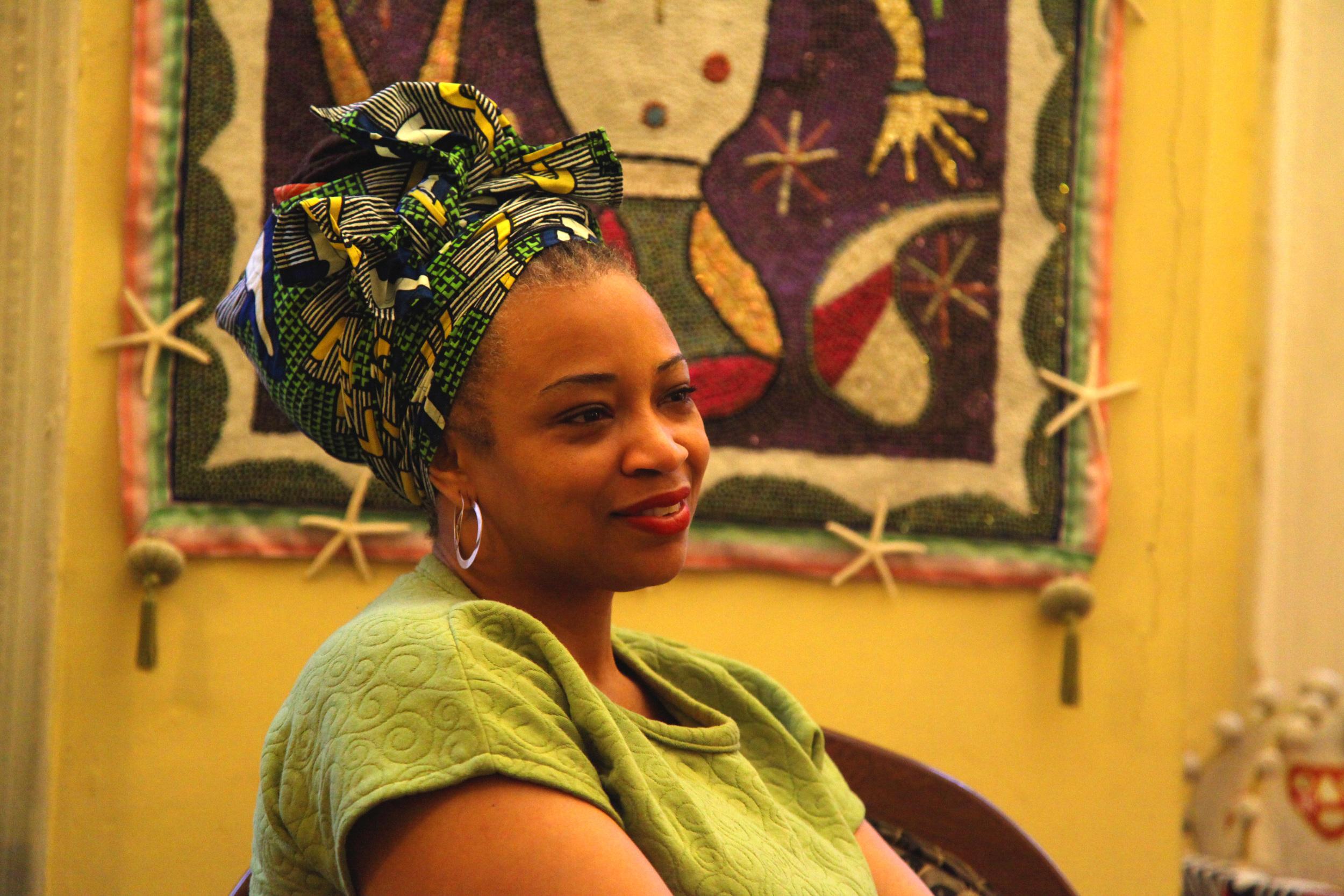 Manbo Asogwe Dowoti Desir,Photo: Rachael Bongiorno