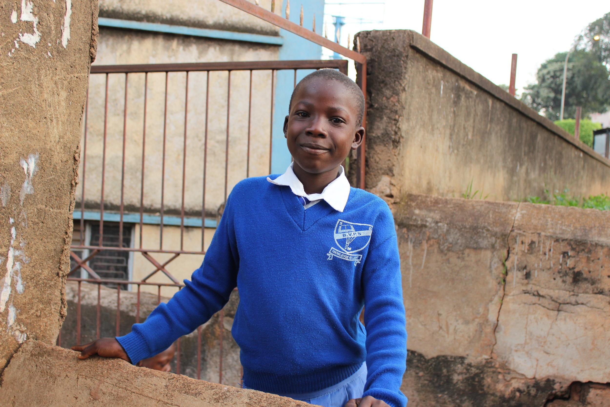 Sponsor a Child Katanga Uganda Africa