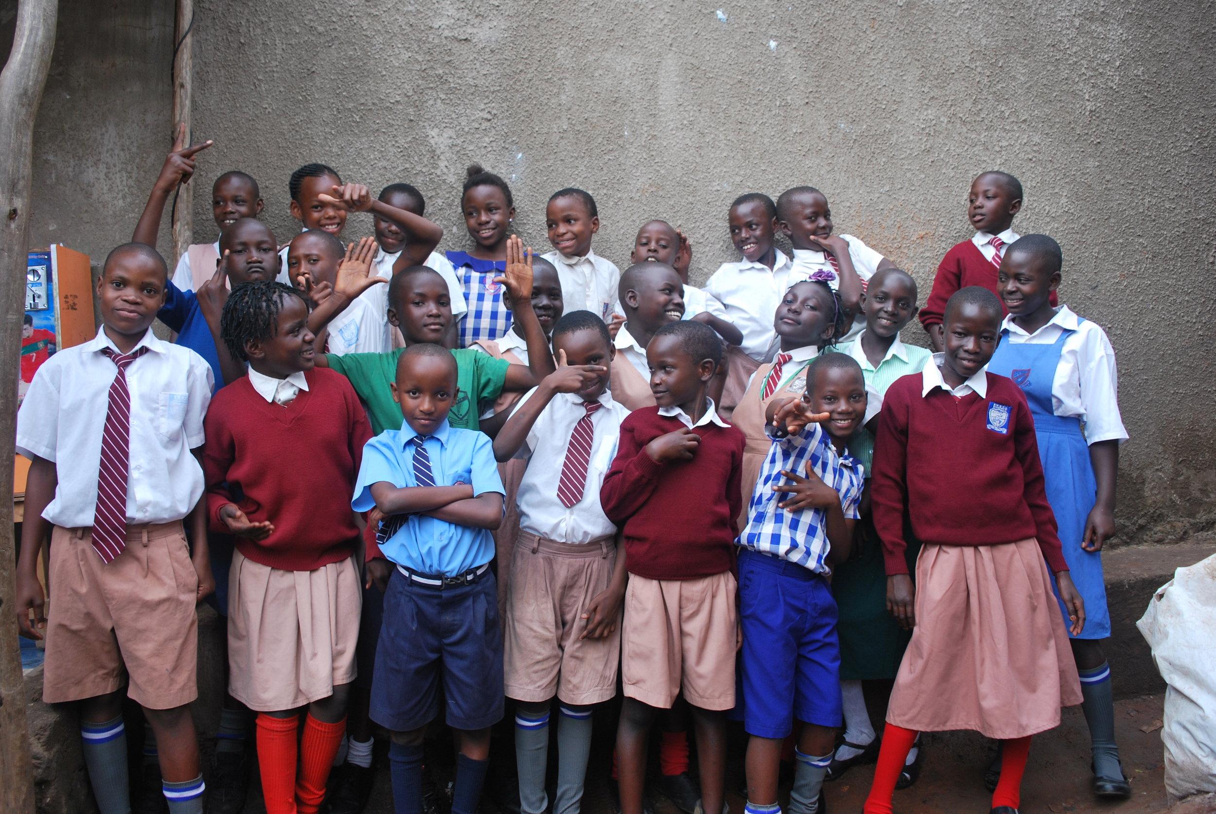 24 of 42 sponsored children going back to school on 30th Jan 2017.