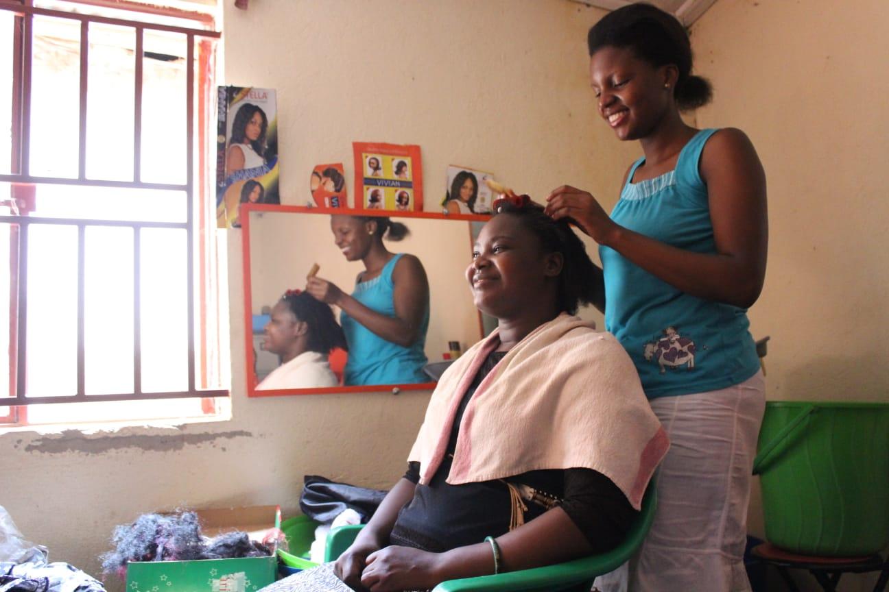 GCP--hair dressing