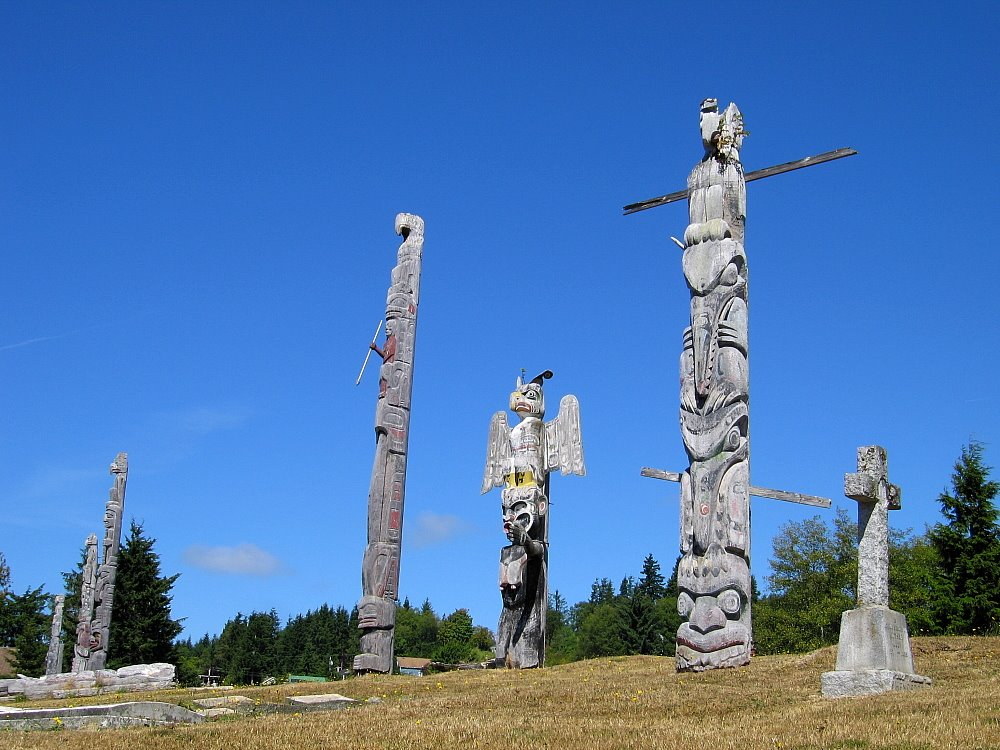 'Namgis First Nation Burial Grounds