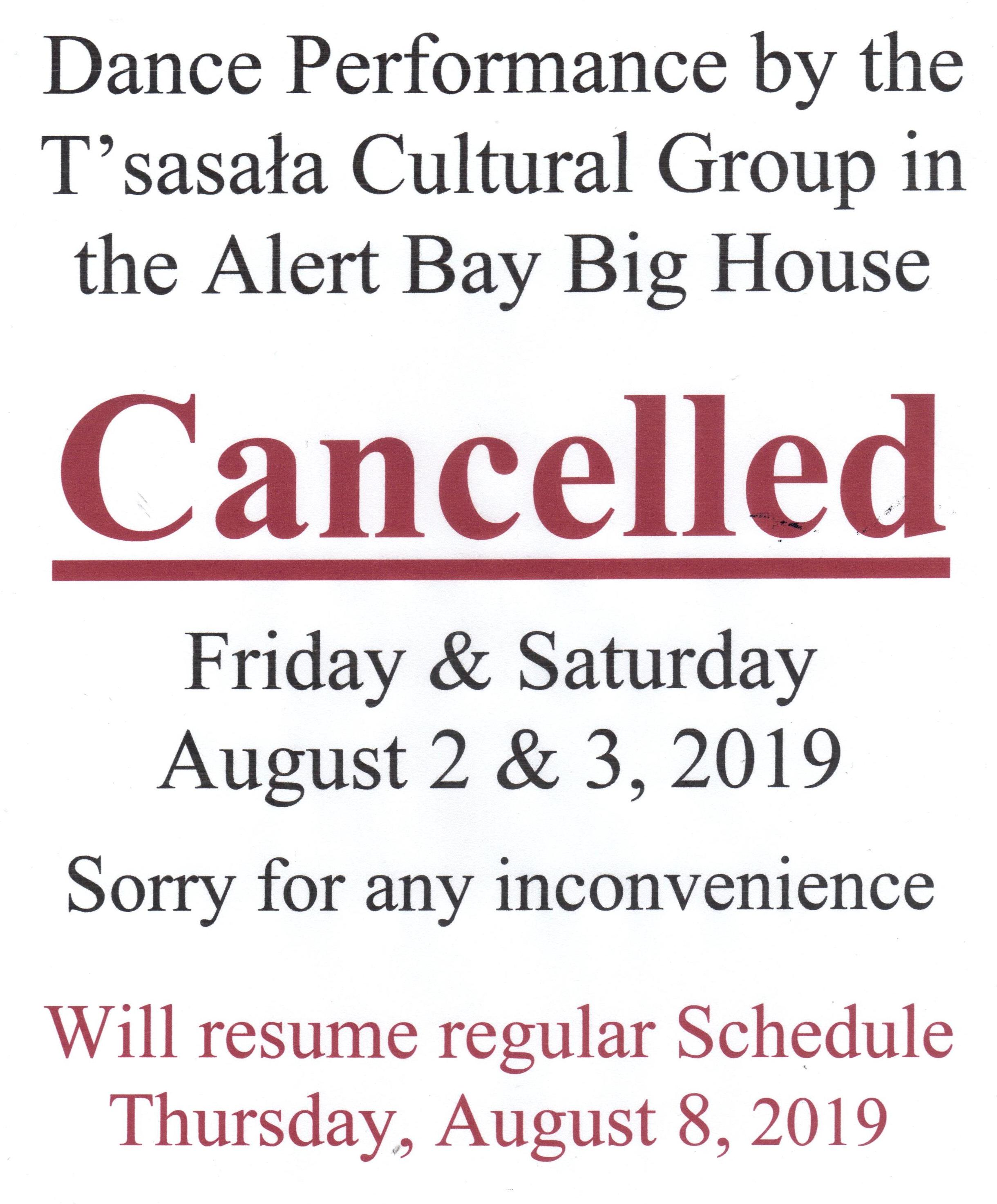Dancing Cancelled August 2 and 3, 2019.jpg