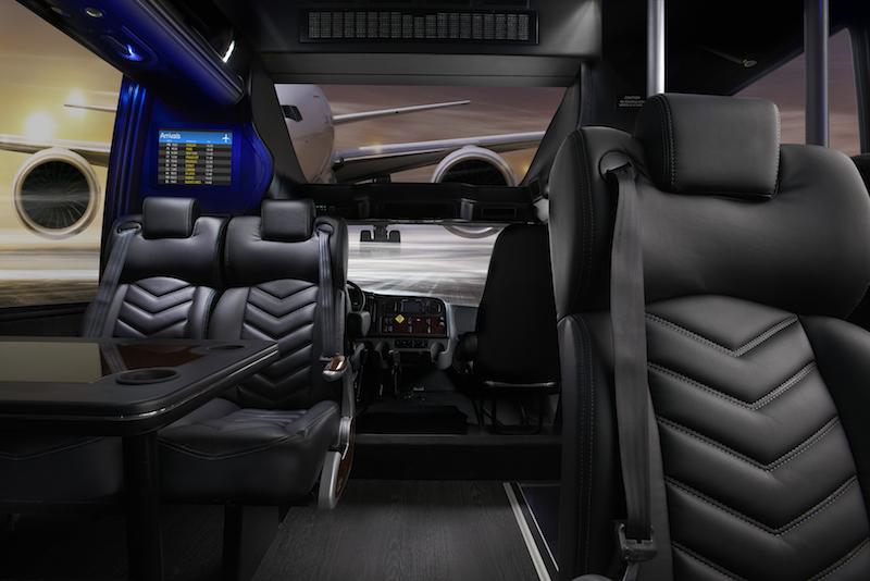 Grech Motors Freightliner luxury bus front panoramic window