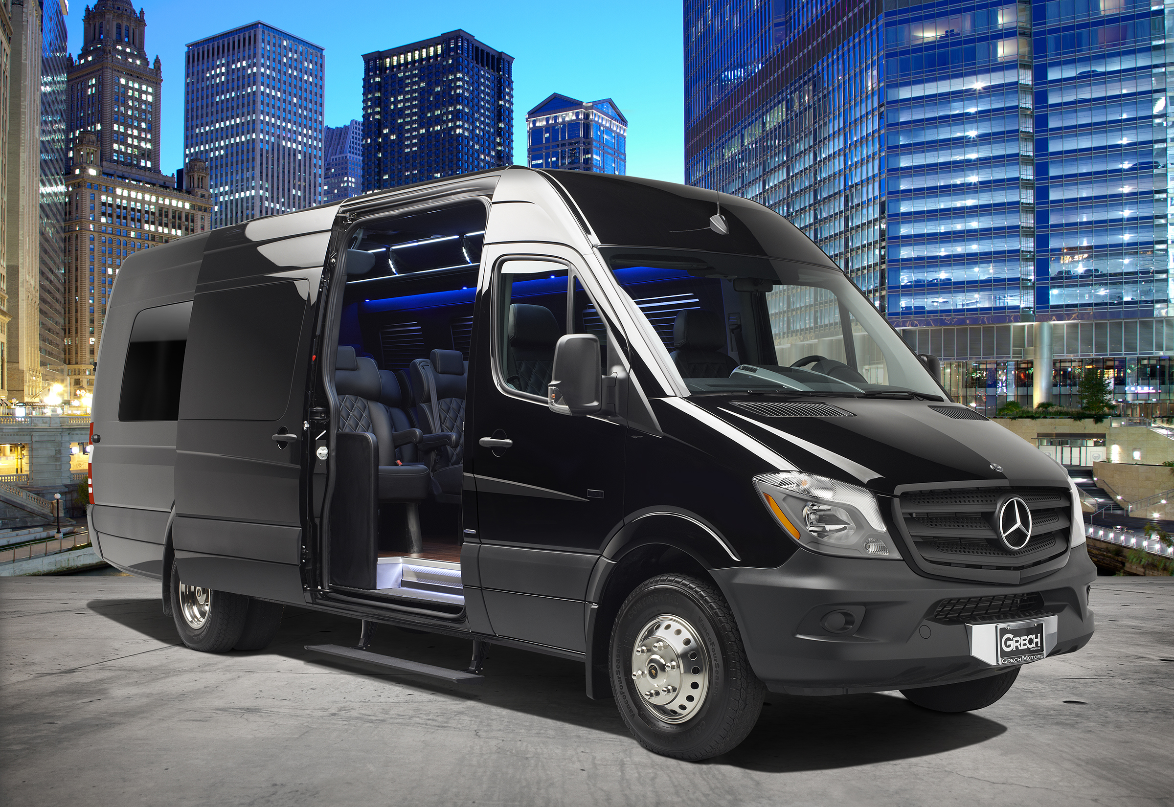 Grech Motors Luxury Sprinter Van