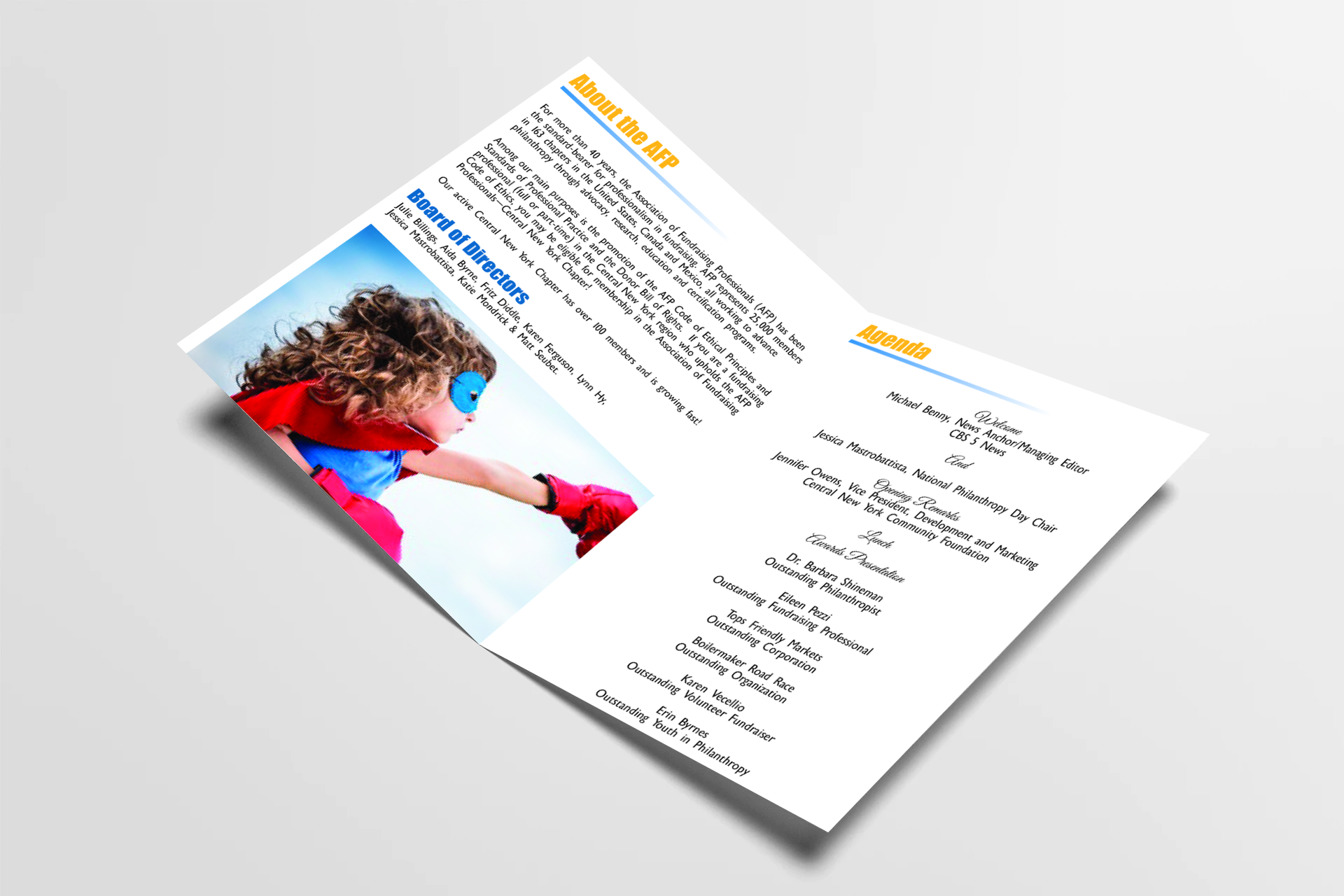 Program Book Design