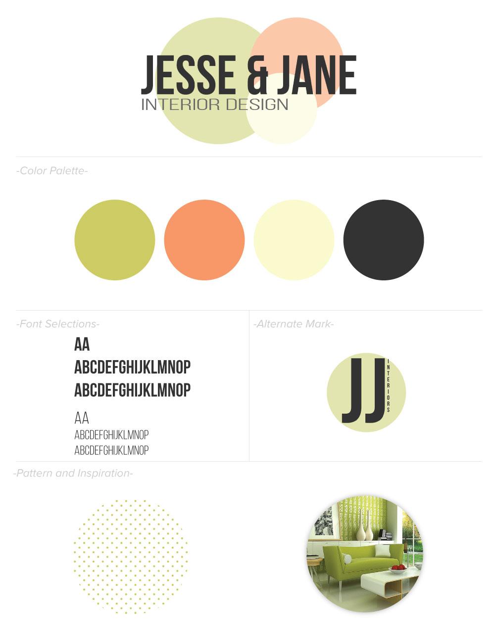 Branding Style Board Design