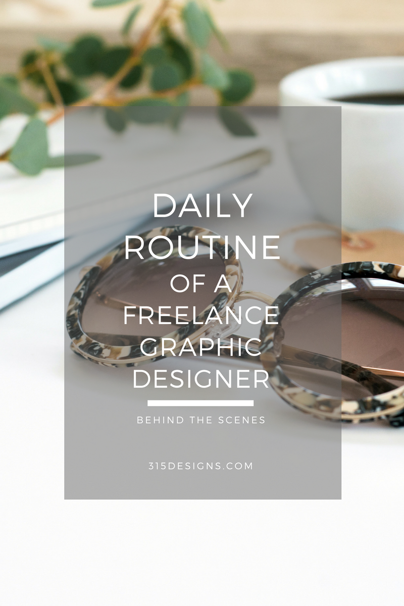 Daily Routine of a Freelance Graphic Designer