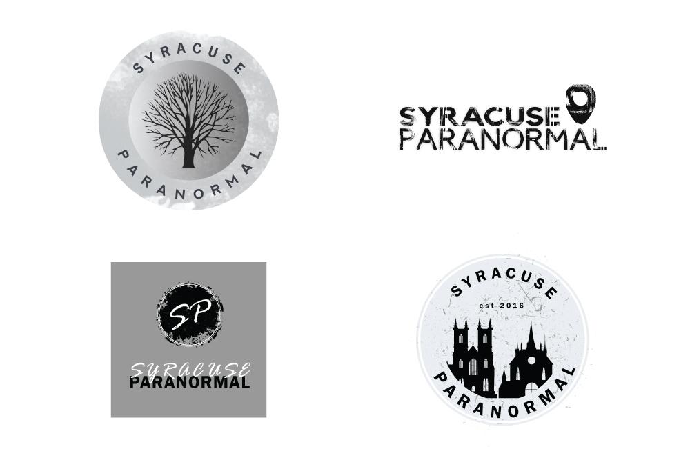 Custom Logo Design Syracuse Paranormal 315 Designs
