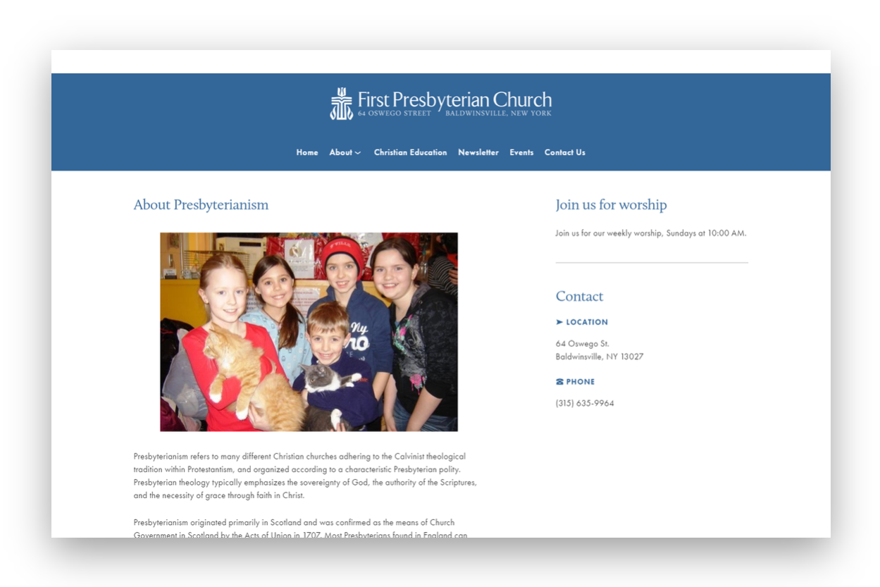 Website Design Fulton