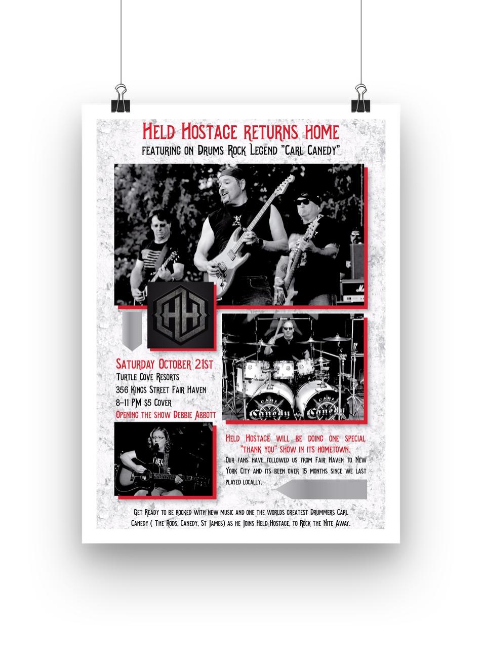 Held Hostage Poster