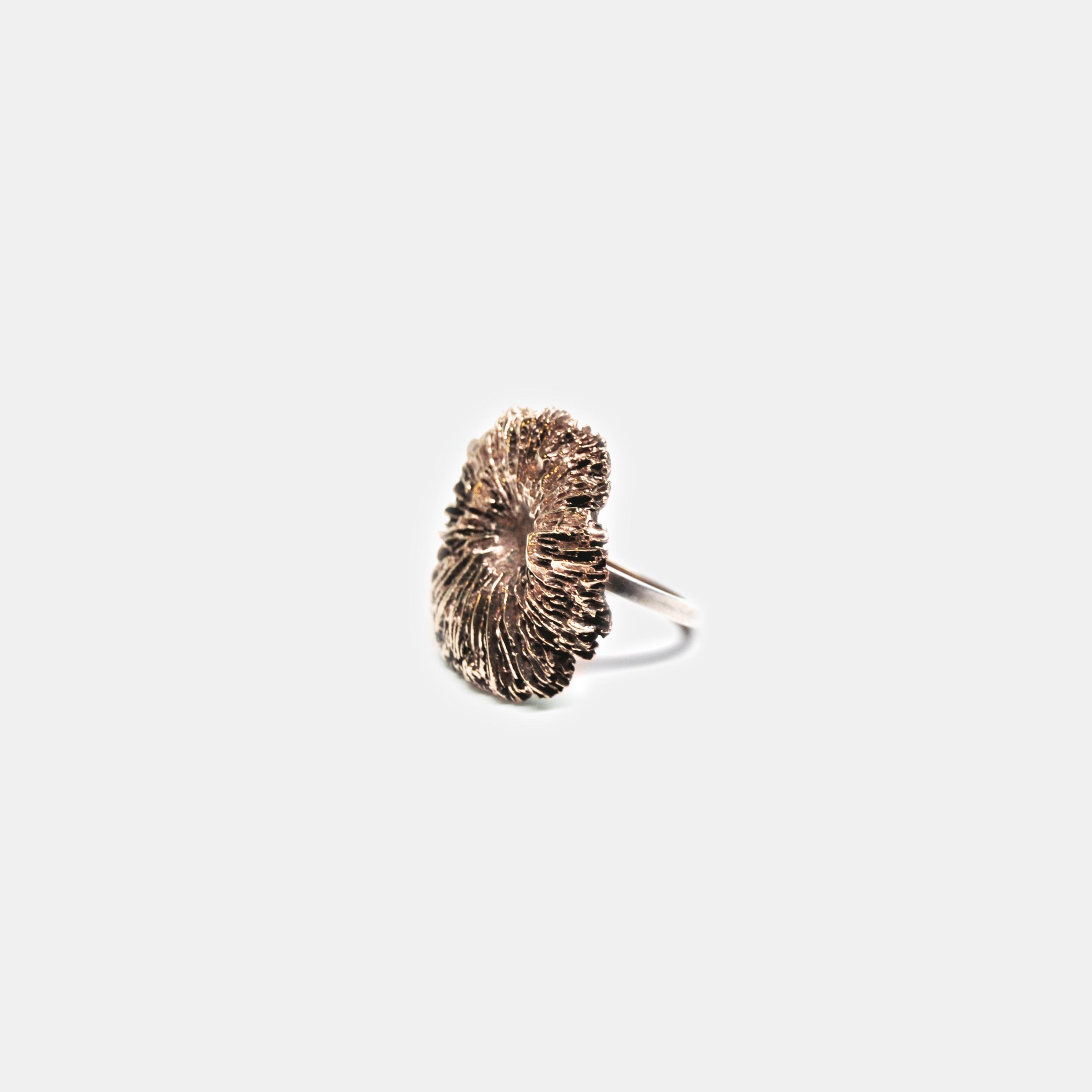 Marisa_Lomonaco_Hudson_Valley_custom_Jewelry_0006_Bronze Coral Ring.jpg