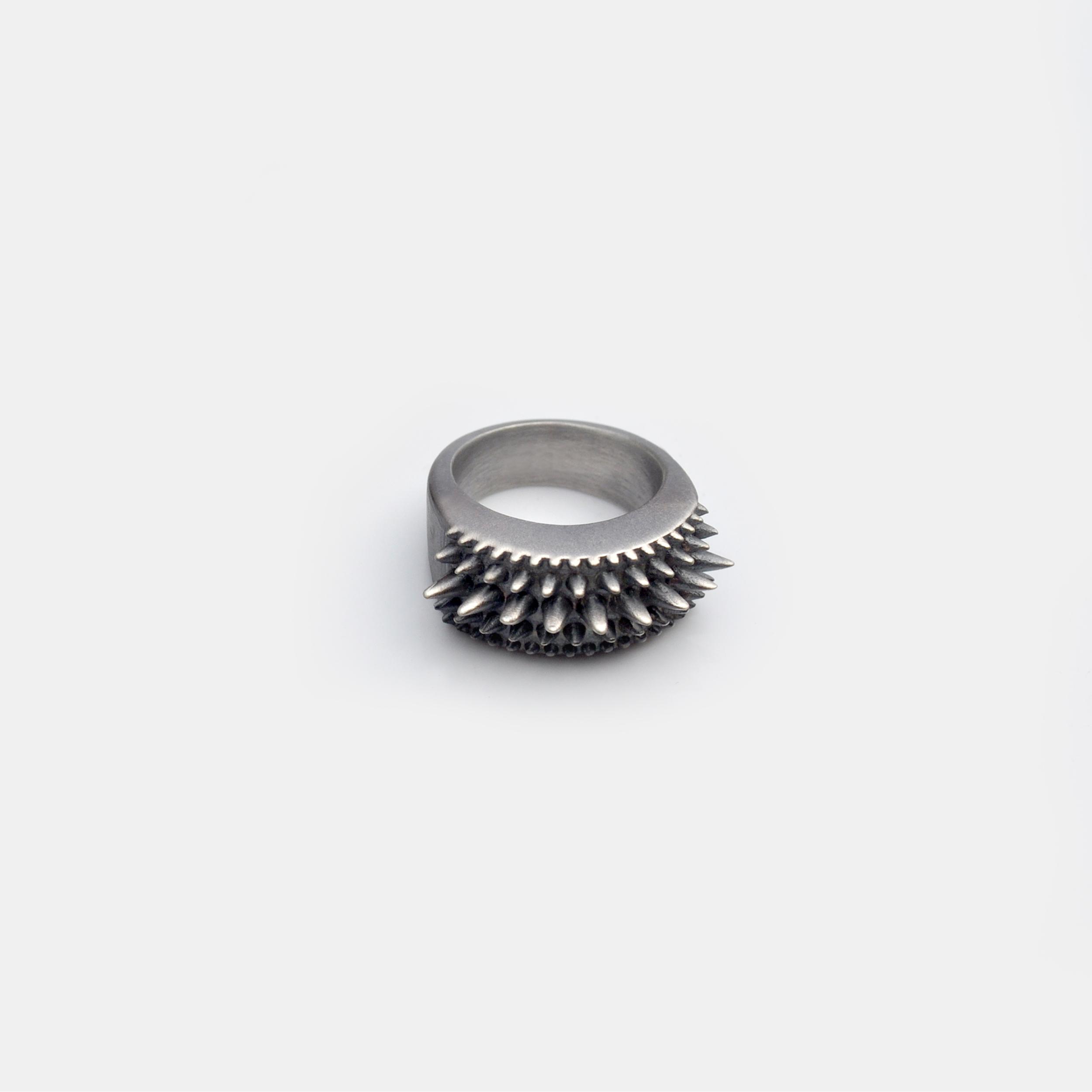 Marisa_Lomonaco_Hudson_Valley_custom_Jewelry_0004_Sterling_Silver_Black_Points_Ring.jpg