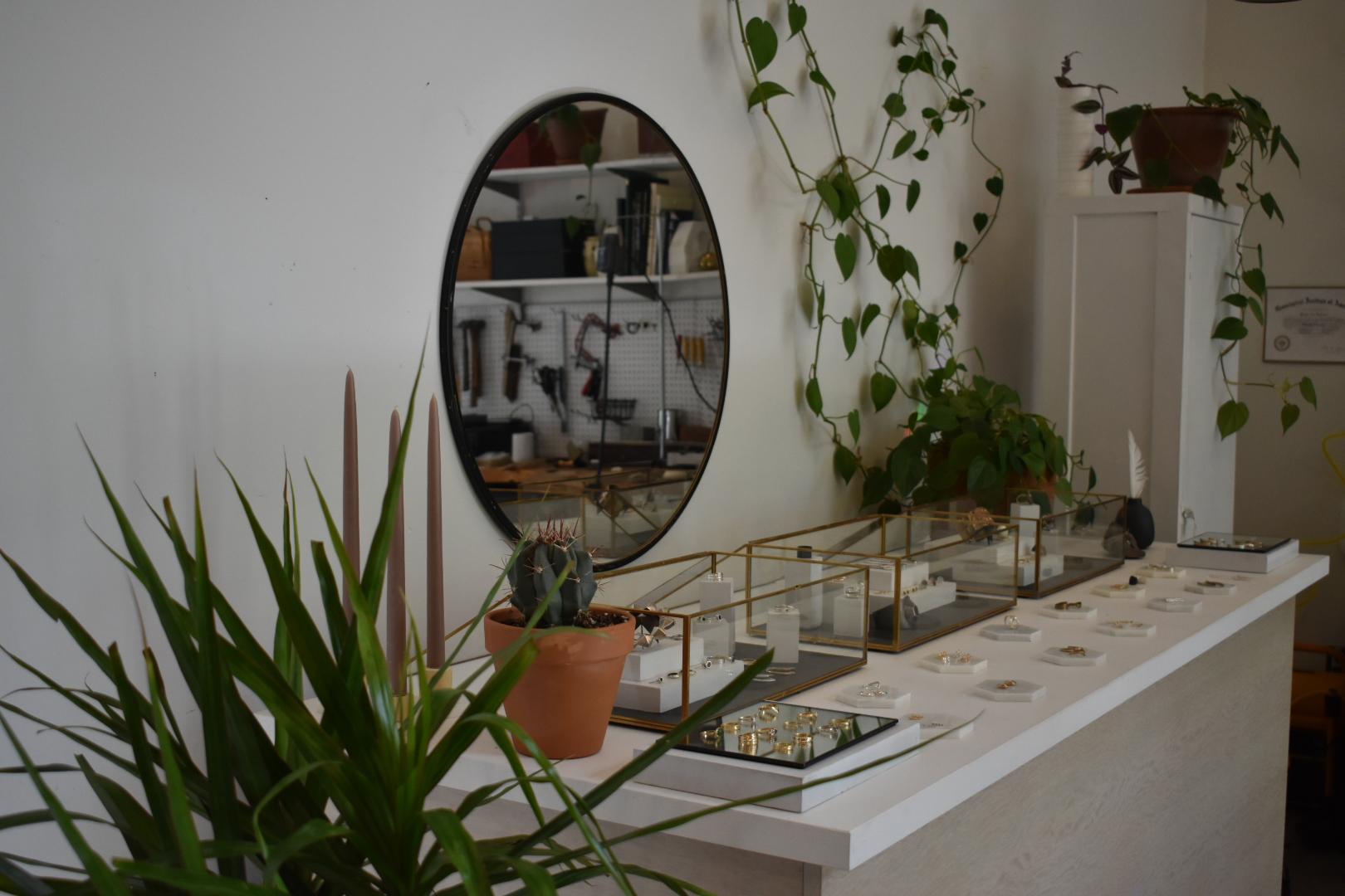 Inside Marisa Lomonaco's Beacon NY Jewelry Studio