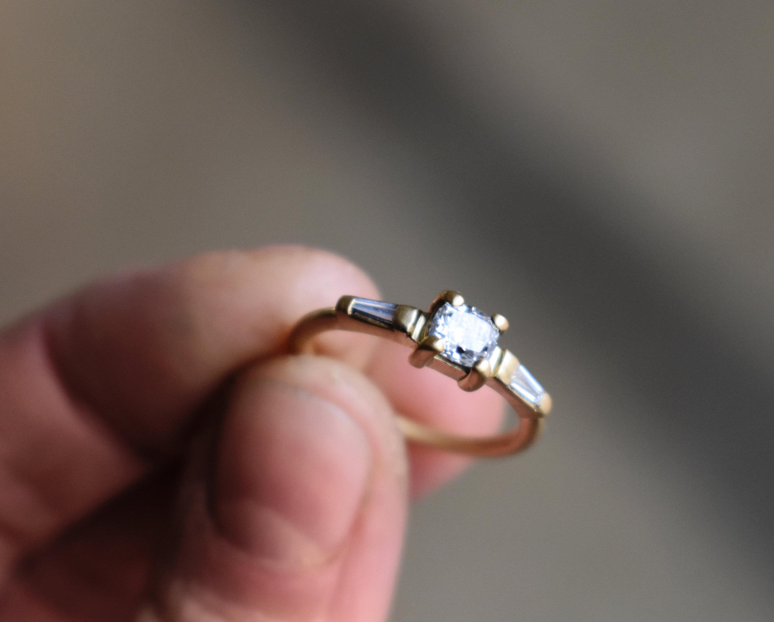 Hudson Valley custom engagement ring
