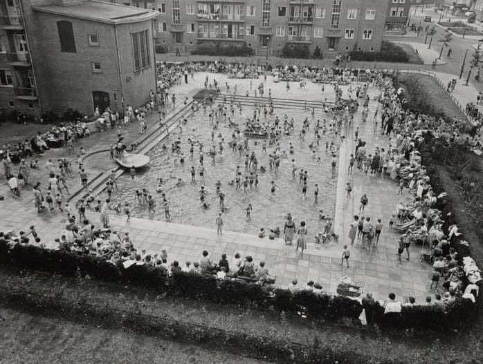 ⎯ Gibraltarbadje, Amsterdam West, 1968