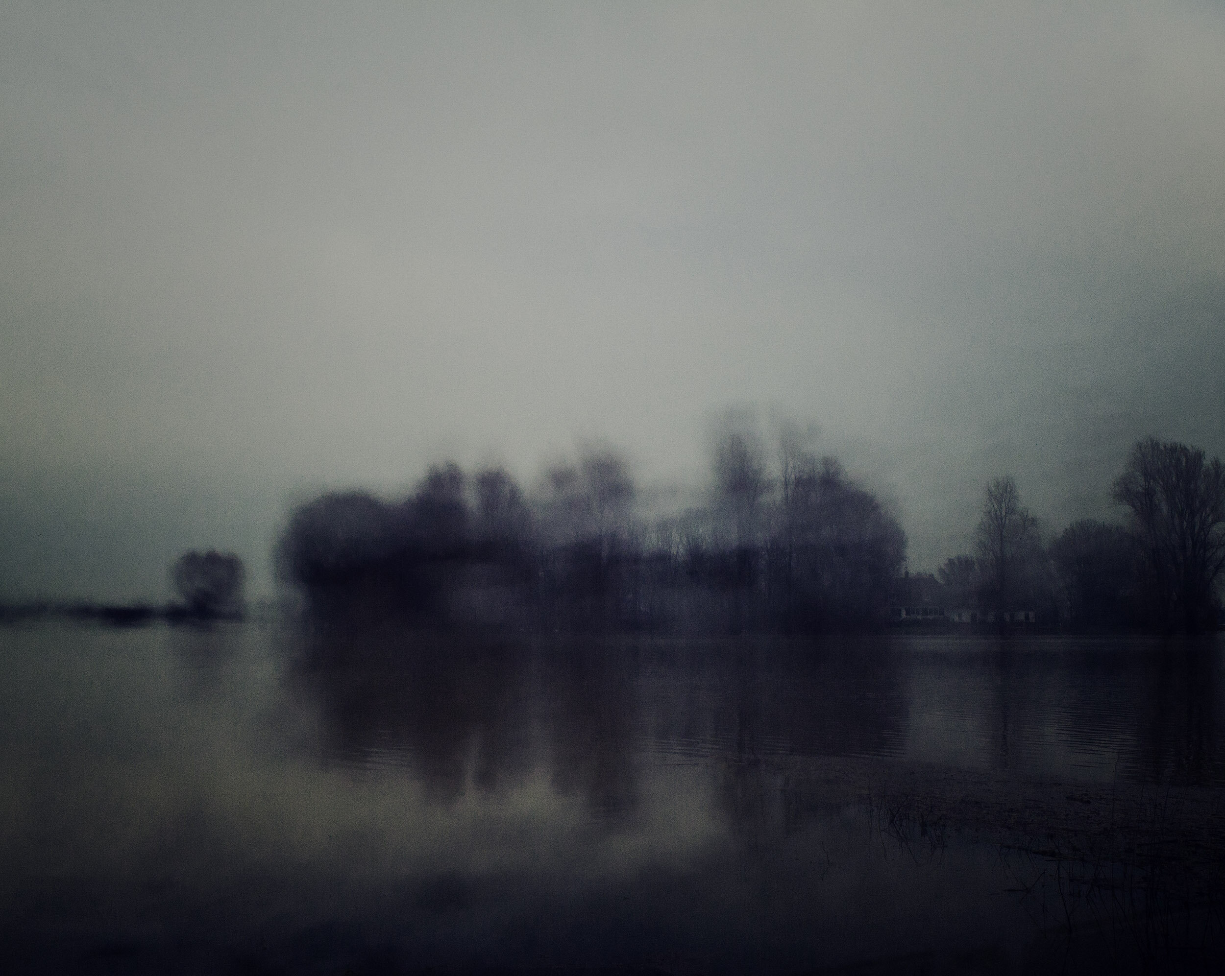 - A river flooded. Afferdense and Deestse Waarden, Deest, the Netherlands 2018